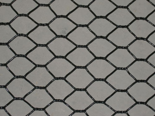 18 Gauge Black Vinyl Coated Chicken Wire Mesh: Processing ...