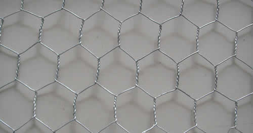 Hexagonal Mesh Made of Electro Galvanized Steel Wire
