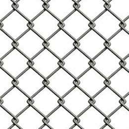 Chain Link Fence, Easily Broken if Cut One Point, Easily Seen from the Structure