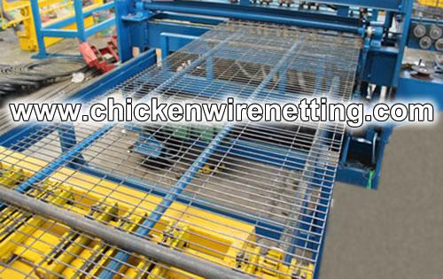 Welded Wire Mesh Machine For Chicken Cage Panels Welding